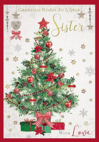 Christmas Wishes To A Dear Sister